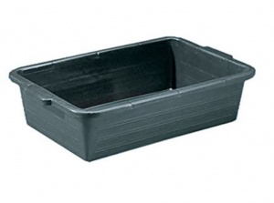 Kreuwel liquid collection tray 40 litres black