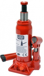 Carpoint pot jack 5 ton steel red