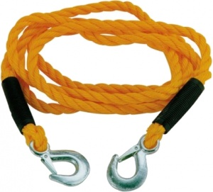 Carpoint tow rope 1.8 tonnes 3 meters yellow