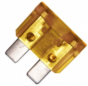 Carpoint car fuses kit mini 5A yellow 6-piece