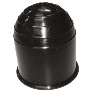 Carpoint tow hook cap black