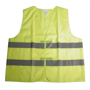 Carpoint safety vests duopack unisex fluoroel size XL