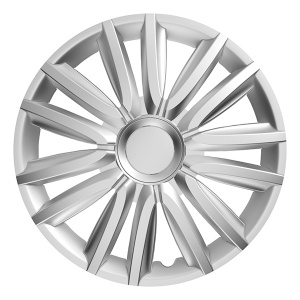 Carpoint hubcaps set Intenso 13 inch silver 4 pieces
