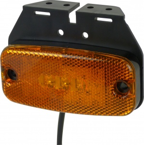 Carpoint zijlamp 9-32 Volt led 112 x 50 mm oranje