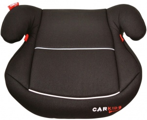 Carkids booster seat group 2-3 black / white