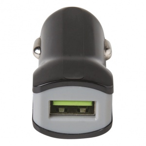 Celly autolader USB 12/24V 2.4A zwart