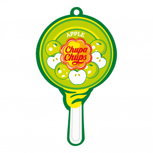 Chupa Chups air freshener Airfresh Lolly Paper Apple
