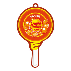 Chupa Chups air freshener Airfresh Lolly Paper Orange