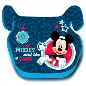Disney autostoel Mickey Mouse junior 4-12 jaar polyester blauw