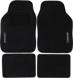 Dunlop automotive-set universal textile black 4-piece