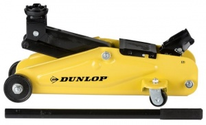 Dunlop garagekrik 2 tons steel yellow