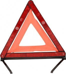 Dunlop warning triangle red 42 x 37 cm