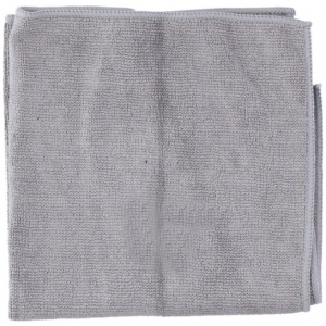 Dunlop microfiber cloth for leather 35 x 35 cm grey