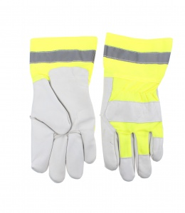 Dunlop work gloves yellow size XL