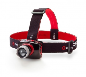 Elwis Pro headlamp 3 positions 5.5 cm black/red
