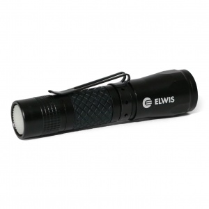 Elwis Pro flashlight LED 10 cm black
