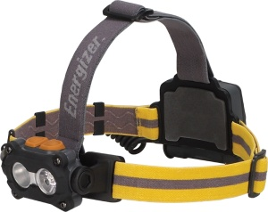 Energizer headlamp with headband 7.5 cm yellow/grey