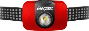 Energizer headlamp with headband 6 cm red/black