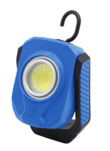 Ethos Pro worklight led 900 lumen usb 10 cm blue