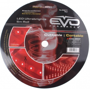 Evo Formance bande flexible à LED 12V 500 cm rôle rouge