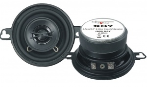 Excalibur speakerset tweeweg coaxiaal X87 160 Watt zwart