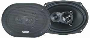 Excalibur speakerset X693 drieweg triaxiaal 500 Watt zwart