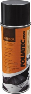 Foliatec Interior Color Spray 400 ml zwart (mat)