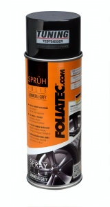 Foliatec sprühfilm Spray Film Rotguss grau metallic matt 400 ml