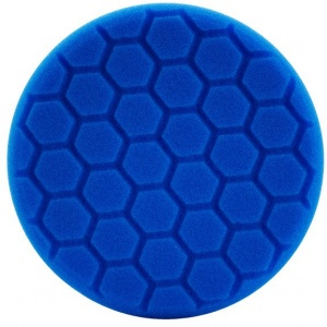 Hex-Logic polijstpad voor machine 140 mm Soft blauw