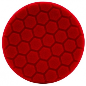 Hex-Logic polijstpad voor machine 140 mm Ultra Fine rood