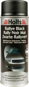 Holts Rally Black spuitlak 500 ml matzwart