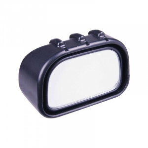 Hypersonic blind spot mirror 6.7 x 3.5 x 4.5 cm black