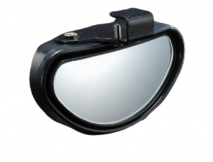 Hypersonic blind spot mirror including bracket 11 cm black