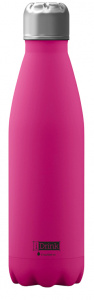I-Drink drinkfles 650 ml RVS roze