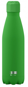 I-Drink thermosfles glow in the dark 750 ml RVS groen
