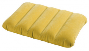 Intex coussin gonflable Kidz Pillow 43 x 28 x 9 cm vinyle jaune