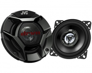 JVC speakerset CS-DR420 tweeweg coaxiaal 4 inch 220 Watt zwart