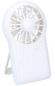 Lifetime Air mini ventilateur 15 x 9 cm blanc