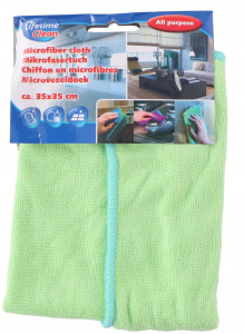 Lifetime Clean wiping cloth 35 cm microfibre green
