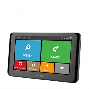 Mio car navigation Spirit 8500LM Europe black