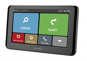 Mio car navigation Spirit 8670LM Europe black