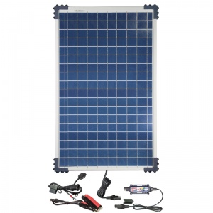 Optimate acculader zonnepaneel Solar Controller Kit 12 Volt