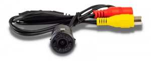 Parksafe rear view camera built-in 18.5 mm black