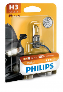 Philips autolampe H3 Vision12V 55W jeweils in Blister