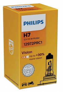 Philips autolamp H7 Vision 12V/55W wit