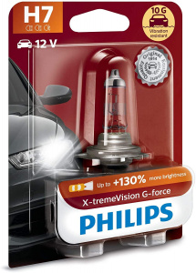 Philips autolamp H7 X-tremeVision G-force 12V/55W wit