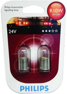 Philips interior lighting R10W 24V white 2 pieces