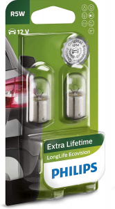Philips interior lighting R5W LongLife Ecovision12V white 2 pcs