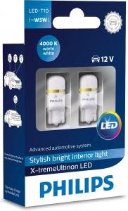 Philips interior lighting X-tremeUltinonled 12V white 2 pcs
