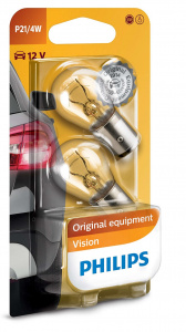 Philips signal lights P21/4W Premium12V red 2 pieces